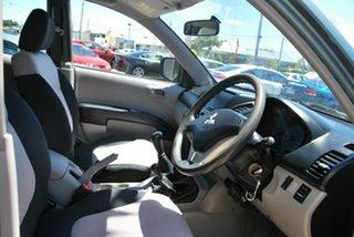 2007 Mitsubishi Triton ML GLX (4x4) Green 5 Speed Manual 4x4 Double Cab Utility