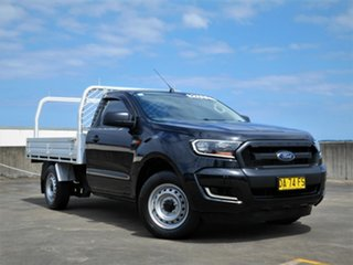 2017 Ford Ranger PX MkII 2018.00MY XL Black 6 Speed Manual Cab Chassis.