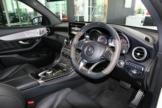 2018 Mercedes-Benz GLC-Class X253 809MY GLC63 AMG SPEEDSHIFT MCT 4MATIC+ S White 9 Speed.