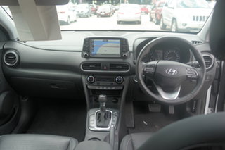 2019 Hyundai Kona OS.2 MY19 Highlander 2WD White 6 Speed Sports Automatic Wagon