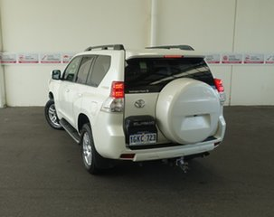 2012 Toyota Landcruiser Prado KDJ150R 11 Upgrade Kakadu (4x4) Crystal Pearl 5 Speed Sequential Auto