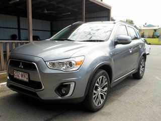 2016 Mitsubishi ASX XB MY15.5 XLS 2WD Grey 6 Speed Constant Variable Wagon