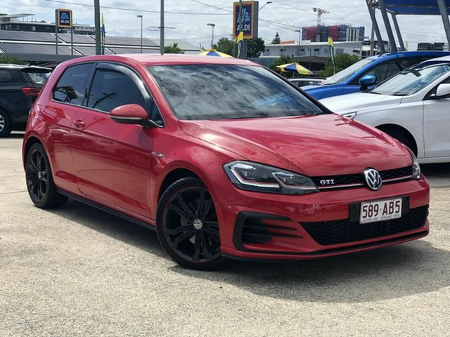 Used Volkswagen Golf 7.5 MY18 GTI DSG Original Chermside, 2017 Volkswagen Golf 7.5 MY18 GTI DSG Original Red 6 Speed Sports Automatic Dual Clutch Hatchback