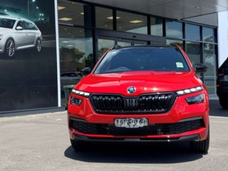 2020 Skoda Kamiq NW MY20.5 110TSI DSG FWD Monte Carlo Red 7 Speed Sports Automatic Dual Clutch Wagon.