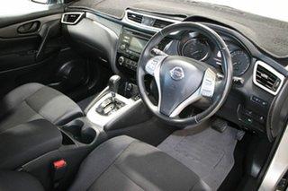 2014 Nissan Qashqai J11 ST Silver Continuous Variable Wagon