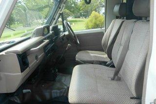 1995 Toyota Landcruiser HZJ75RV White 5 Speed Manual Hardtop