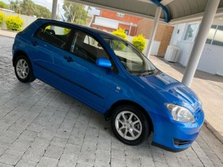 2006 Toyota Corolla Ascent Blue Automatic Hatchback