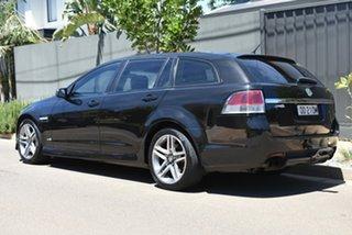 2012 Holden Commodore VE II MY12 SV6 Sportwagon Black 6 Speed Sports Automatic Wagon.