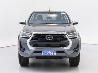 2020 Toyota Hilux GUN126R Facelift SR5 (4x4) Grey 6 Speed Automatic Double Cab Chassis.