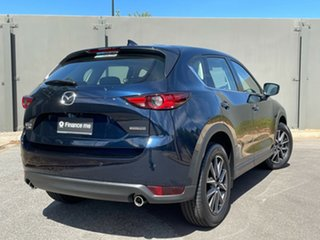 2020 Mazda CX-5 KF4W2A GT SKYACTIV-Drive i-ACTIV AWD Deep Crystal Blue 6 Speed Sports Automatic.