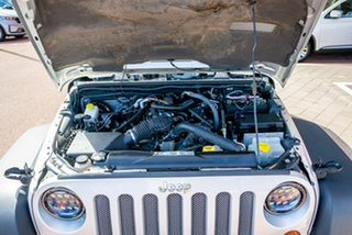 2011 Jeep Wrangler JK MY2010 Sport Silver 6 Speed Manual Softtop