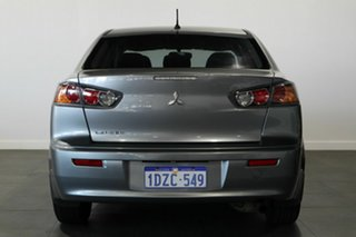 2011 Mitsubishi Lancer CJ MY11 ES Grey 6 Speed Constant Variable Sedan