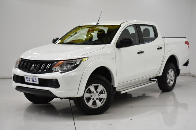Used Mitsubishi Triton MQ MY18 GLX Double Cab 4x2 Brooklyn, 2018 Mitsubishi Triton MQ MY18 GLX Double Cab 4x2 White 5 Speed Sports Automatic Utility