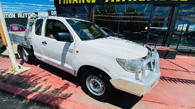 Used Toyota Hilux KUN16R MY12 SR Xtra Cab 4x2 Maidstone, 2012 Toyota Hilux KUN16R MY12 SR Xtra Cab 4x2 White 5 Speed Manual Utility