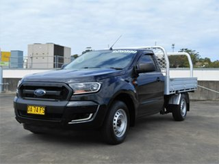 2017 Ford Ranger PX MkII 2018.00MY XL Black 6 Speed Manual Cab Chassis