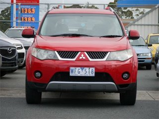 2007 Mitsubishi Outlander ZG XLS Red 6 Speed Constant Variable Wagon.