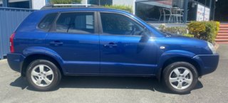 2006 Hyundai Tucson JM City Blue 4 Speed Sports Automatic Wagon.
