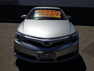 2011 Toyota Camry ASV50R Atara SX Silver 6 Speed Sports Automatic Sedan.