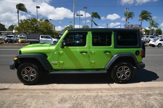 2019 Jeep Wrangler JL MY19 Sport S (4x4) Green 8 Speed Automatic Softtop