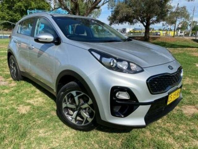 Used Kia Sportage QL MY19 SI (FWD) Wangaratta, 2019 Kia Sportage QL MY19 SI (FWD) Silver 6 Speed Automatic Wagon
