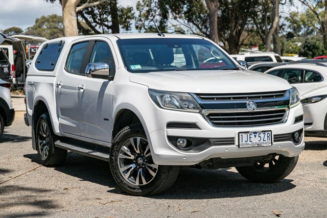 Used Holden Colorado RG MY17 LTZ Pickup Crew Cab Mornington, 2016 Holden Colorado RG MY17 LTZ Pickup Crew Cab White 6 Speed Manual Utility