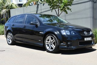 2012 Holden Commodore VE II MY12 SV6 Sportwagon Black 6 Speed Sports Automatic Wagon