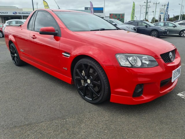Used Holden Ute VE II SS V Warrnambool East, 2011 Holden Ute VE II SS V Red 6 Speed Sports Automatic Utility
