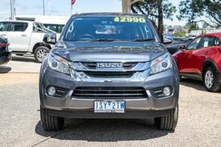 2017 Isuzu MU-X MY16.5 LS-U Grey 6 Speed Manual Wagon