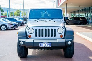 2014 Jeep Wrangler JK MY2014 Unlimited Sport Silver 5 Speed Automatic Softtop.