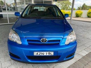 2006 Toyota Corolla Ascent Blue Automatic Hatchback.