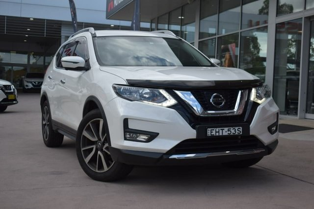 Used Nissan X-Trail T32 Series II N-TREK X-tronic 2WD Blacktown, 2019 Nissan X-Trail T32 Series II N-TREK X-tronic 2WD White 7 Speed Constant Variable Wagon