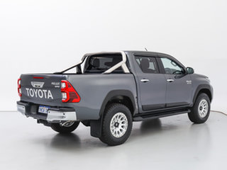 2020 Toyota Hilux GUN126R Facelift SR5 (4x4) Grey 6 Speed Automatic Double Cab Chassis