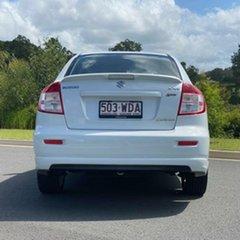 2011 Suzuki SX4 GYC MY10 Liana S White 6 Speed Manual Sedan