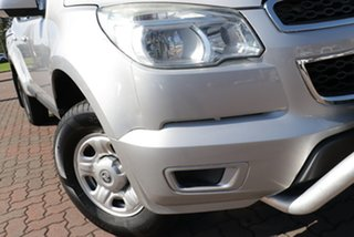 2013 Holden Colorado RG MY13 LX Crew Cab Silver 6 Speed Sports Automatic Utility.
