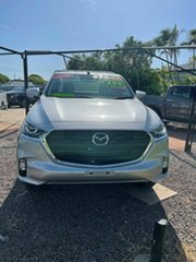 2020 Mazda BT-50 XT Silver 6 Speed Automatic Kingcab.
