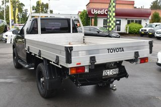 2015 Toyota Hilux KUN26R MY14 SR Black 5 Speed Automatic Cab Chassis.