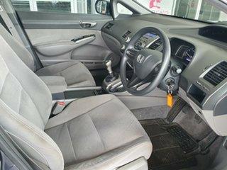 2007 Honda Civic 8th Gen MY07 VTi Grey 5 Speed Manual Sedan.