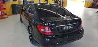 2013 Mercedes-Benz C250 W204 MY14 Sport Obsidian Black 7 Speed Automatic G-Tronic Coupe