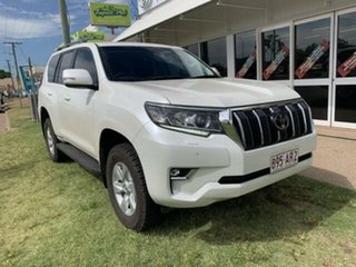 2018 Toyota Landcruiser Prado GDJ150R MY18 GXL (4x4) White 6 Speed Automatic Wagon