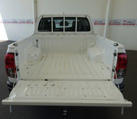 2017 Toyota Hilux GUN125R Workmate (4x4) Glacier White 6 Speed Automatic Dual Cab Utility