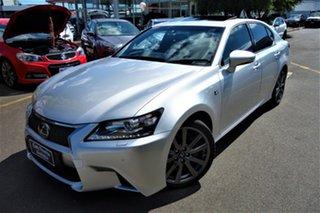 2012 Lexus GS GRL11R GS250 F Sport Silver 6 Speed Sports Automatic Sedan.