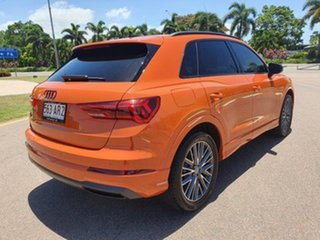 2019 Audi Q3 F3 MY20 35 TFSI S Tronic Launch Edition Pulse Ora 6 Speed Sports Automatic Dual Clutch.