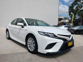 2020 Toyota Camry Ascent Sport White Constant Variable Sedan.
