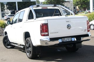2017 Volkswagen Amarok 2H MY17 TDI550 4MOTION Perm Highline White 8 Speed Automatic Utility