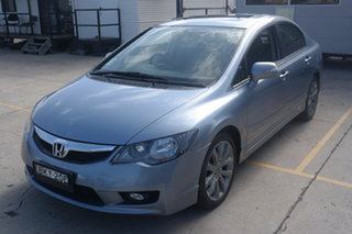 2009 Honda Civic 8th Gen MY09 Sport Silver 5 Speed Automatic Sedan.