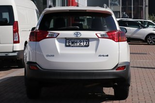 2014 Toyota RAV4 ZSA42R MY14 GXL 2WD White 7 Speed Constant Variable SUV