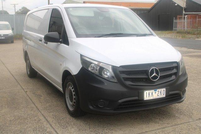Used Mercedes-Benz Vito 447 114 BlueTEC LWB West Footscray, 2016 Mercedes-Benz Vito 447 114 BlueTEC LWB White 7 Speed Automatic Van
