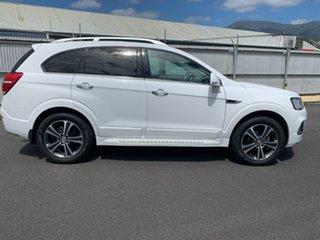 2018 Holden Captiva CG MY18 LTZ AWD White 6 Speed Sports Automatic Wagon.