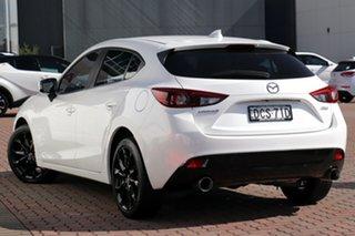 2016 Mazda 3 BM5426 XD SKYACTIV-MT Astina White 6 Speed Manual Hatchback.