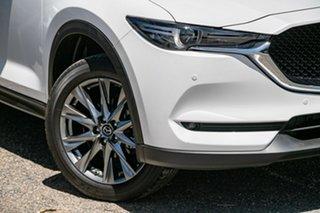 2020 Mazda CX-5 KF4WLA Akera SKYACTIV-Drive i-ACTIV AWD White 6 Speed Sports Automatic Wagon.